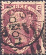 1870 1½d Lake-red SG52 Plate 1 'CC'
